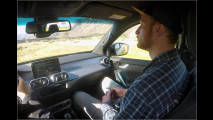 Mitfahrt: Mercedes X-Klasse
