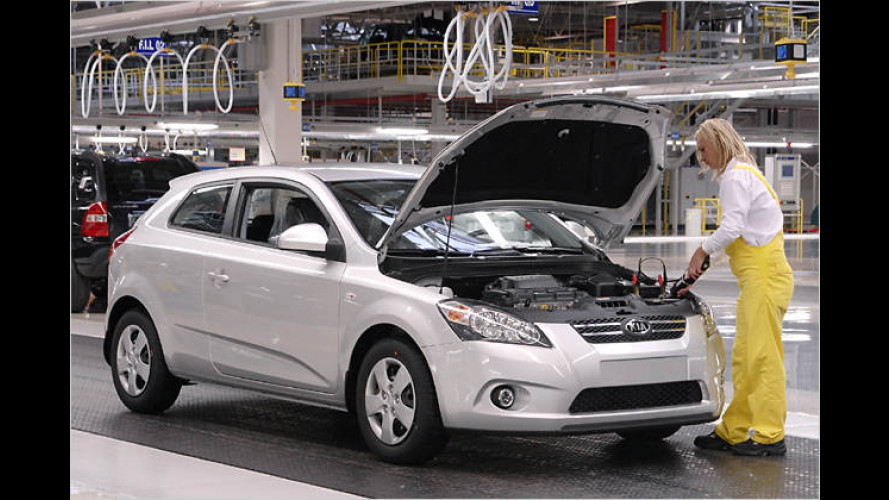 Kia zieht Produktionsstart des pro_cee'd vor