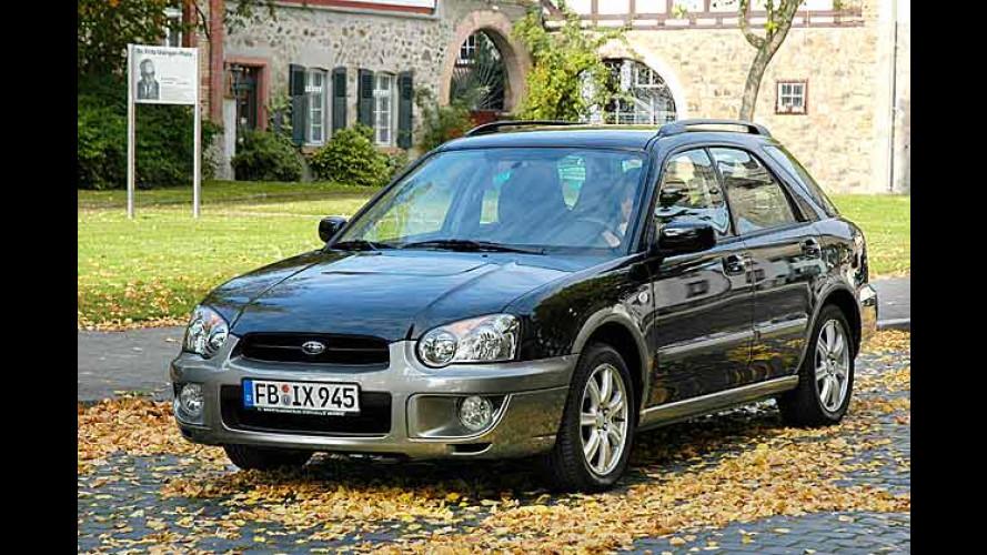 Starker Auftritt: Subaru Impreza Outback Sport