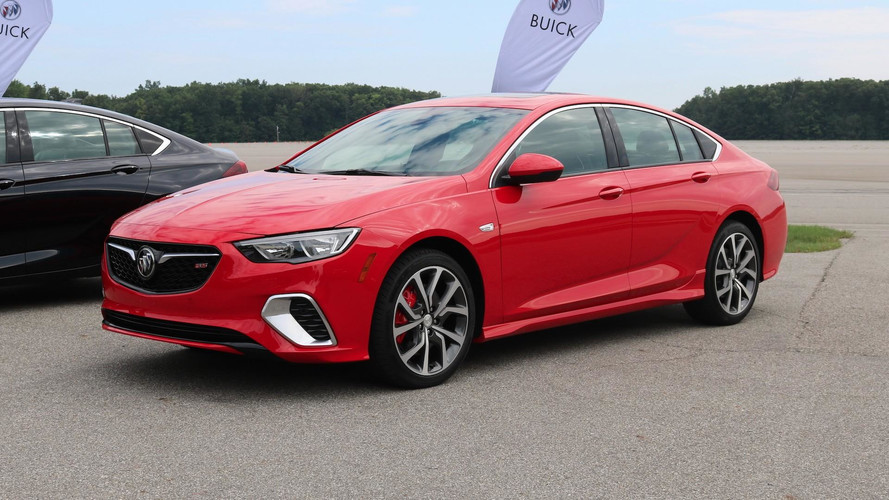 Most Expensive 2018 Buick Regal GS Costs $46,025