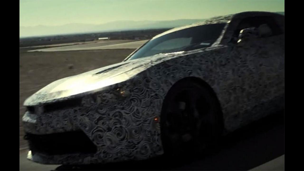 Chevrolet provoca Ford e diz que novo Camaro vai ofuscar o Mustang
