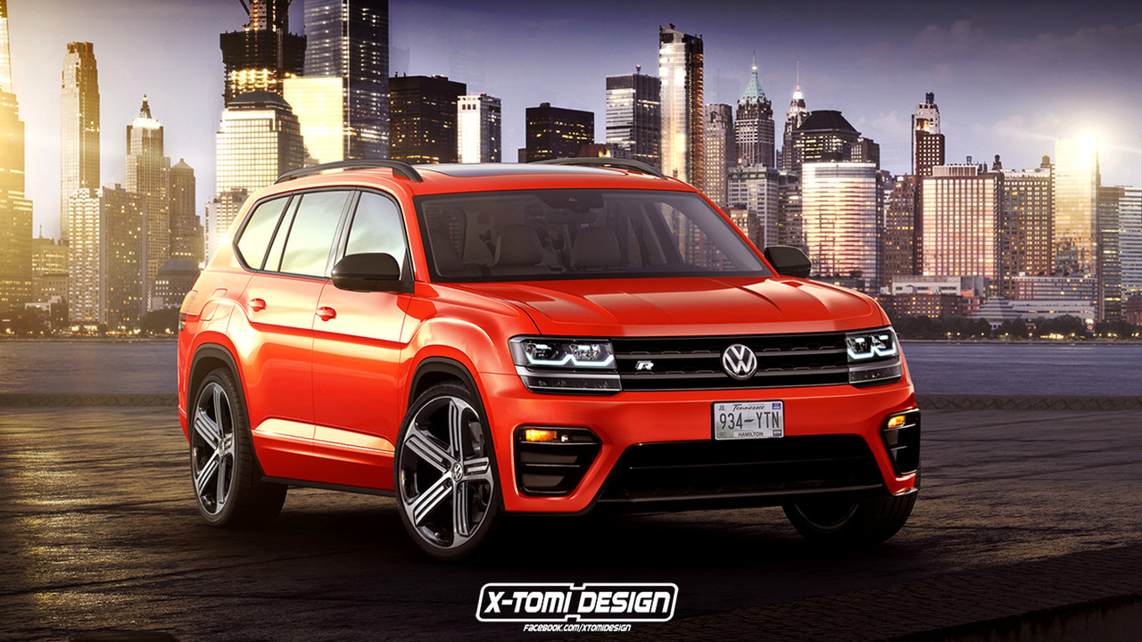 VW Atlas R speculative render