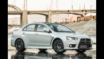 Mitsubishi Lancer Evo Final Edition teve a última unidade leiloada por US$ 76,4 mil