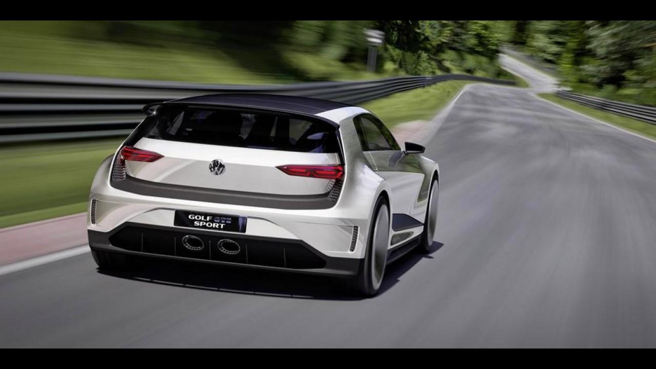 Golf com 400 cv e visual futurista sugere o estilo dos próximos esportivos - veja fotos