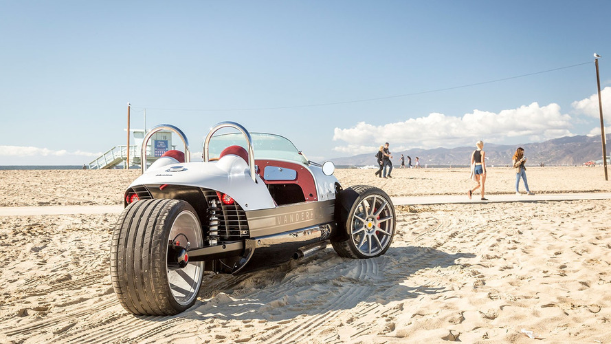 Este é o Venice, um triciclo retrô com motor 1.4 turbo do Cruze