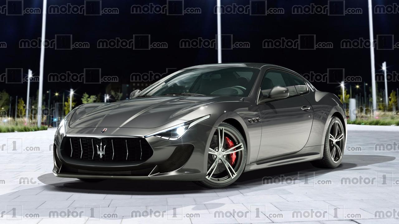 Maserati GranTurismo 2018 Rendu