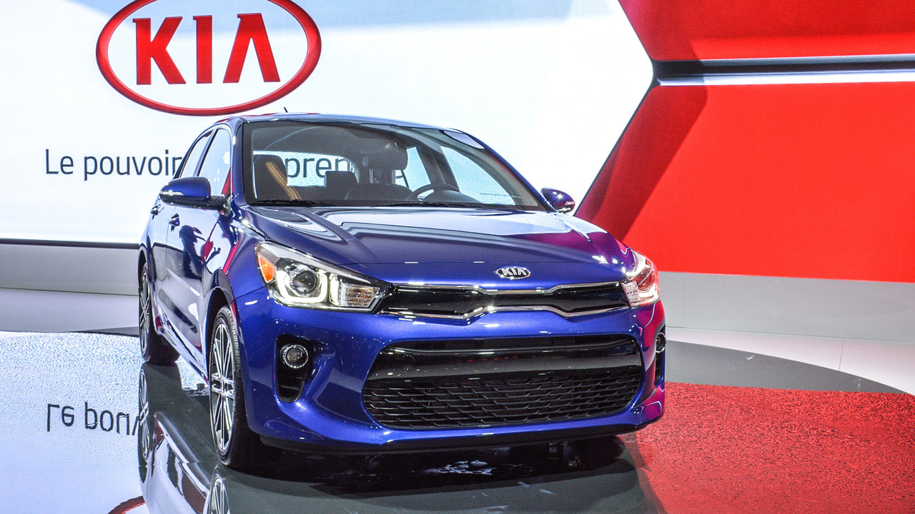 2018 kia rio 5 door unveiled in montreal