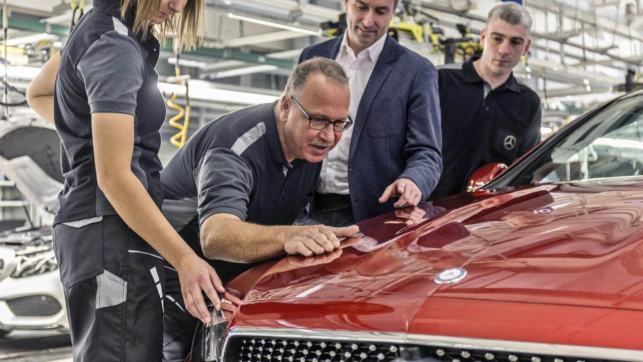 Mercedes E-Class Coupe production start