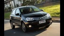 Toyota Etios 2017 terá câmbio automático, novo visual e motores revisados