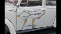 Volkswagen Maggiolino attraversa lo stretto di Messina