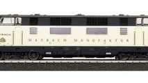 Maybach Goes On the Rails