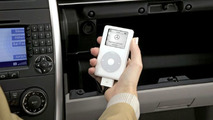 Mercedes-Benz takes the iPod® on the road