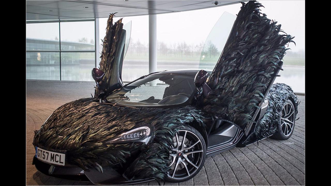 McLaren: Feder-Karosserieverkleidung für 570GT