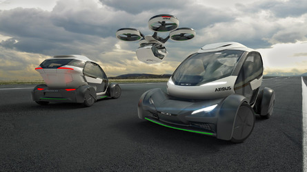 Italdesign and Airbus Pop Up Concept can fly or drive you anywhere