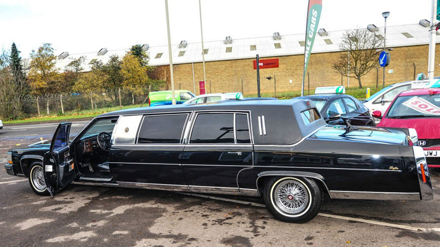 A garage in Gloucestershire is selling Trump's limo