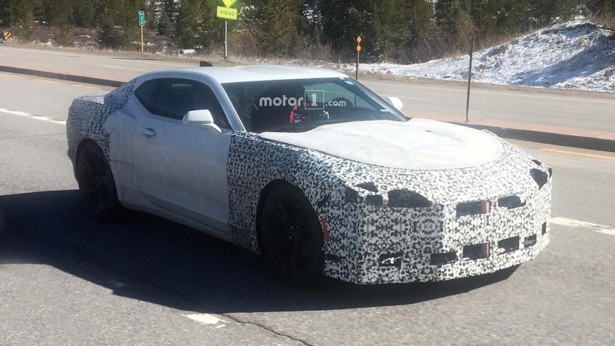 Première sortie en public pour la Chevrolet Camaro 2018