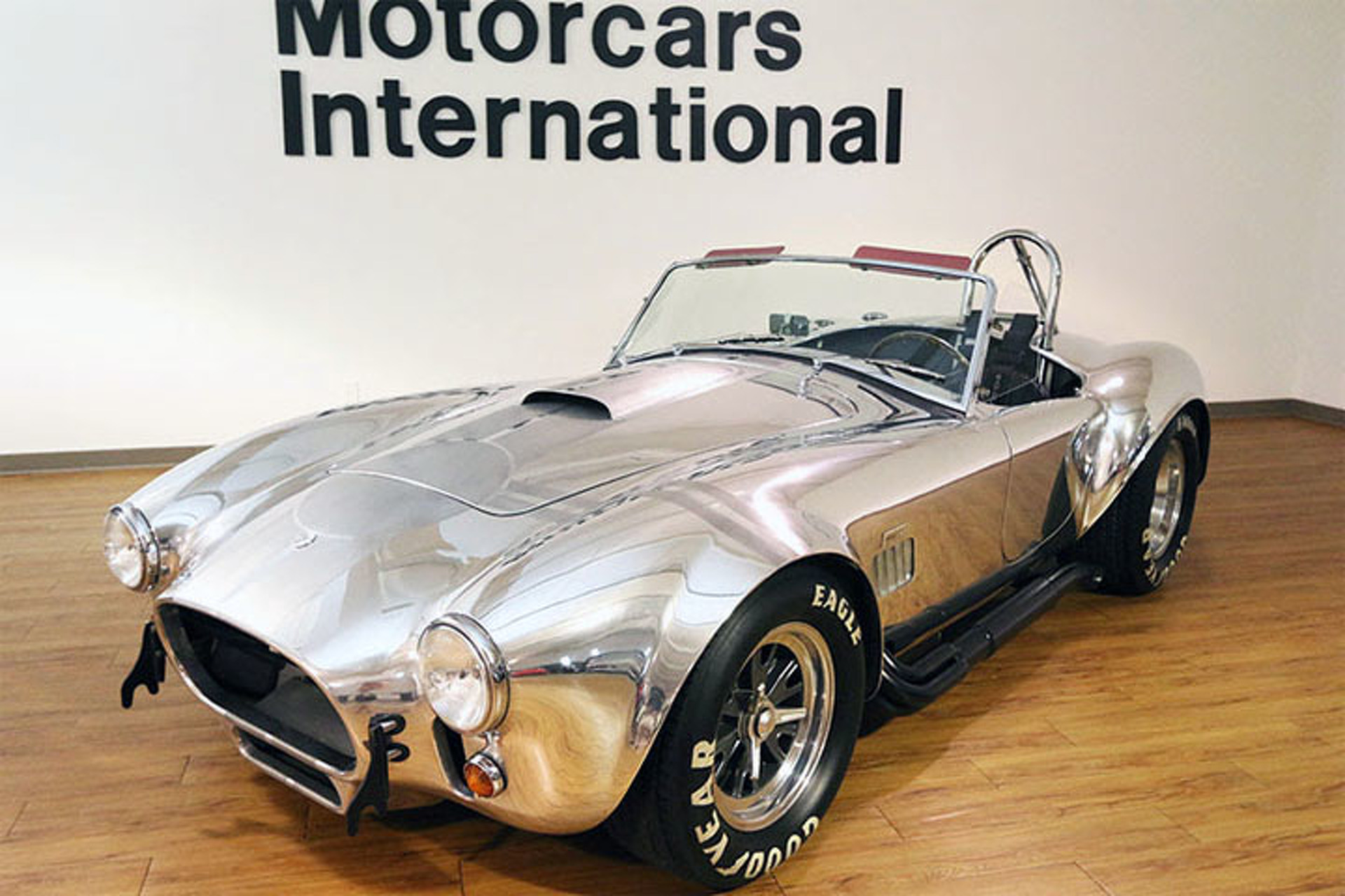 Here's Your Chance to Own a Mint Shelby Cobra Replica