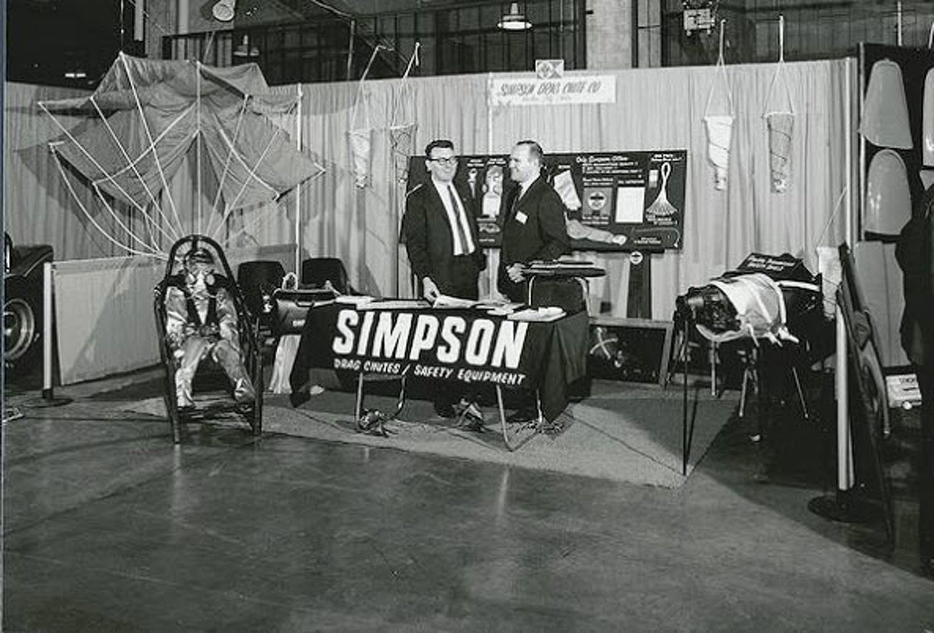 Scenes from the Innaugural 1967 SEMA Show