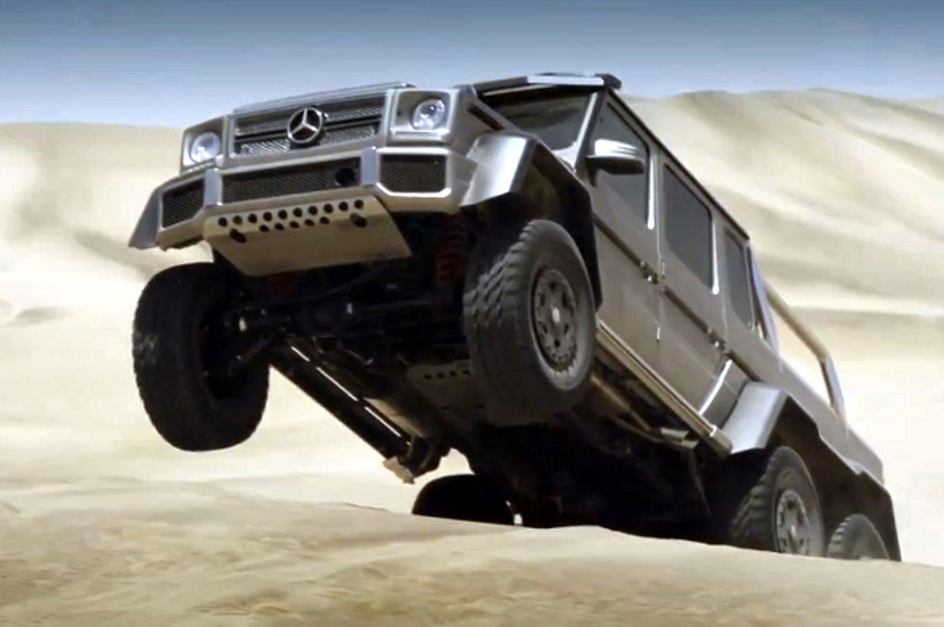 Mercedes-Benz G-Class 6X6: Awesome, Defined