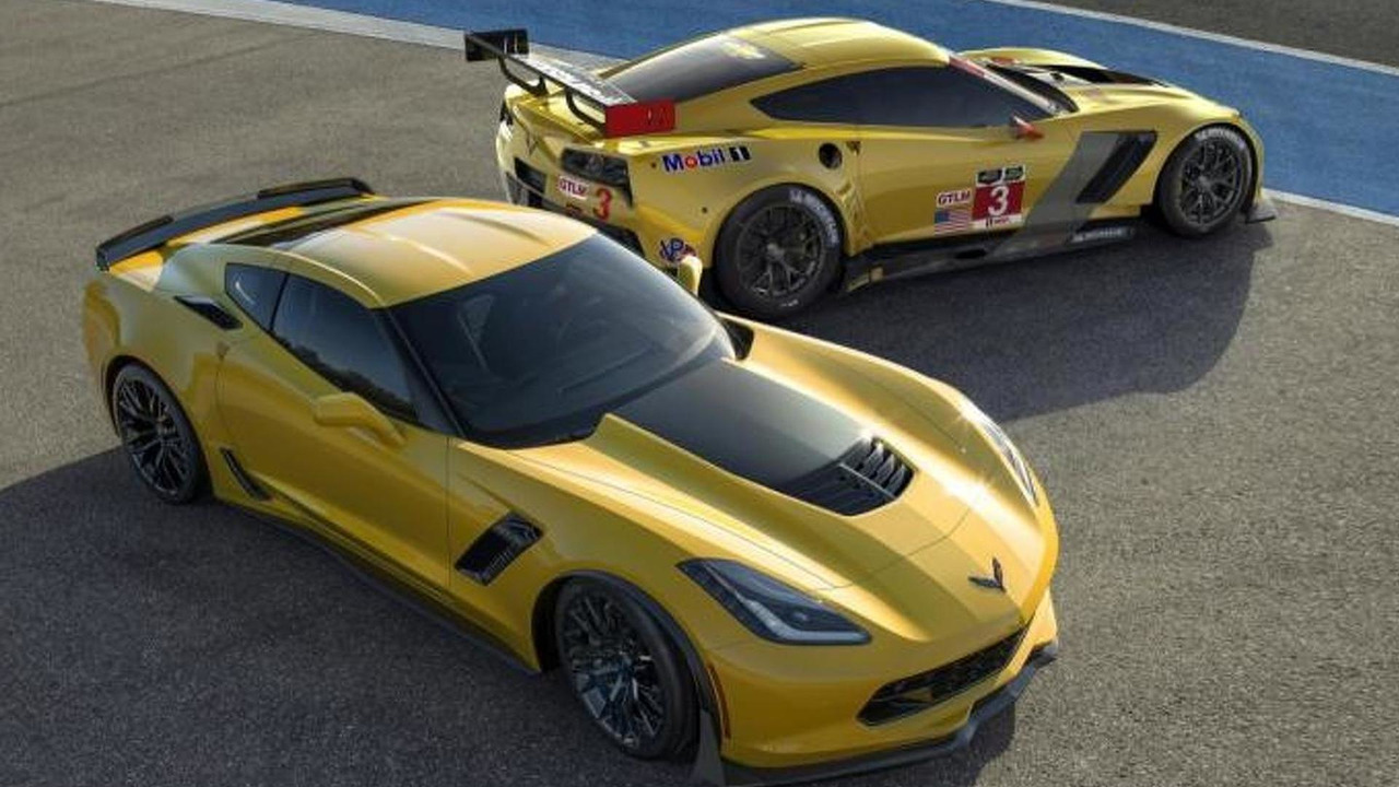 Chevrolet Corvette Z06 and C7.R