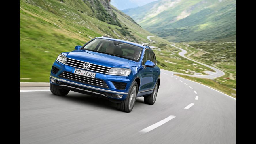 Volkswagen Touareg, restyling leggero