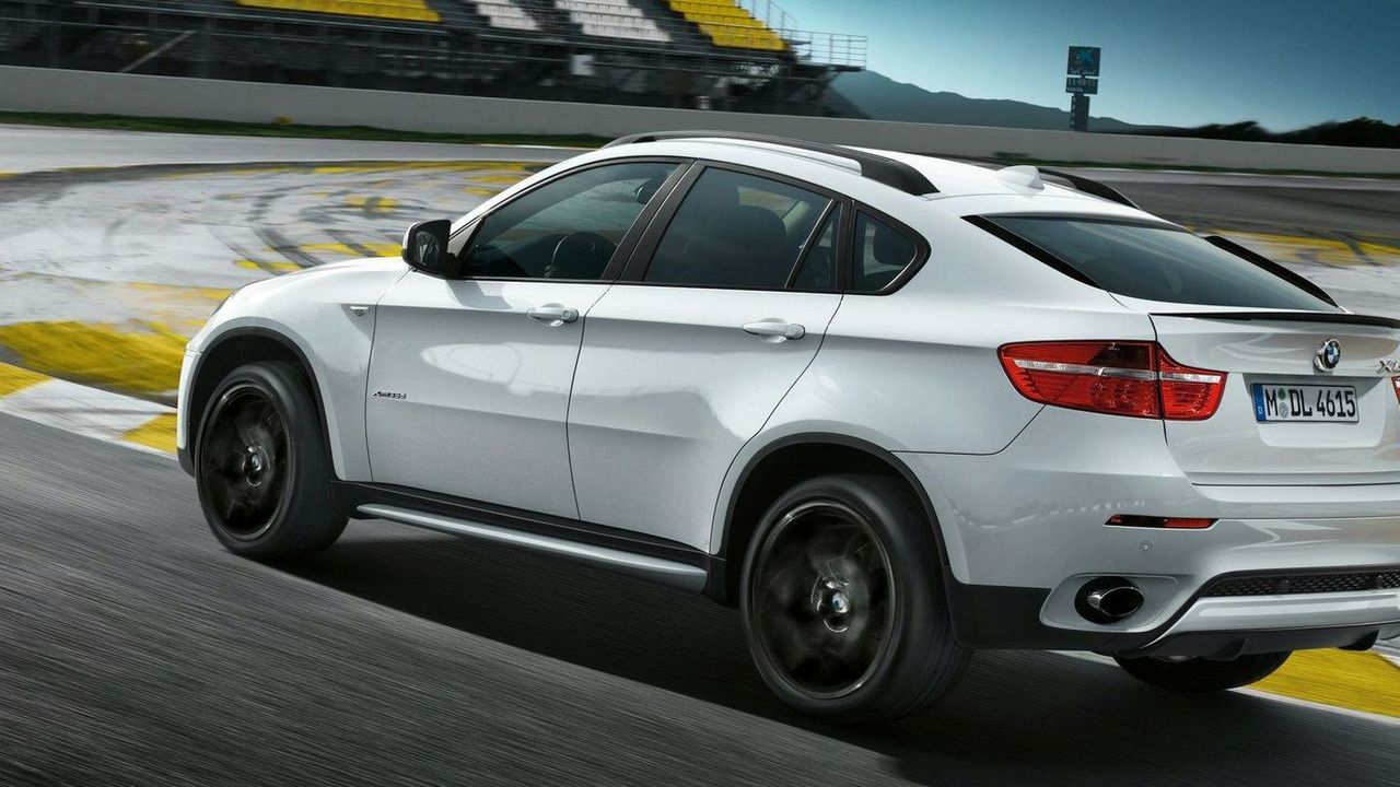 BMW X6 with BMW Performance accessories first photos - 19.02.2010