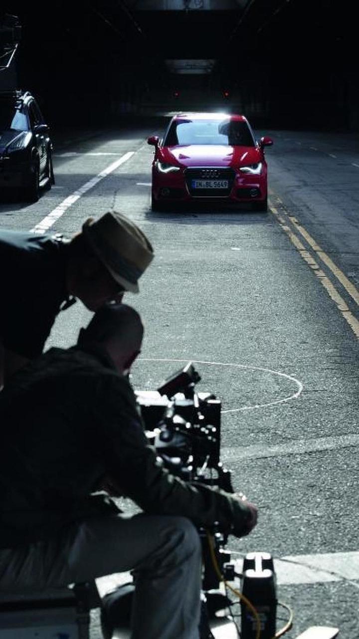 Audi A1 Episodes film shooting with Justin Timberlake 04.05.2010