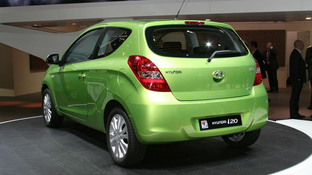 Hyundai i20 3dr at 2009 Geneva Motor Show