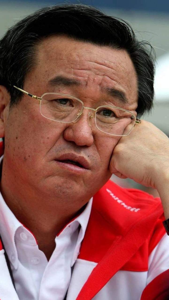 Tadashi Yamashina (JPN), Toyota F1 Chairman and Team Principal, Australian Grand Prix, Melbourne, Australia, 27.03.2009