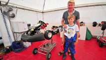 Hakkinen's son starts karting career in Italy