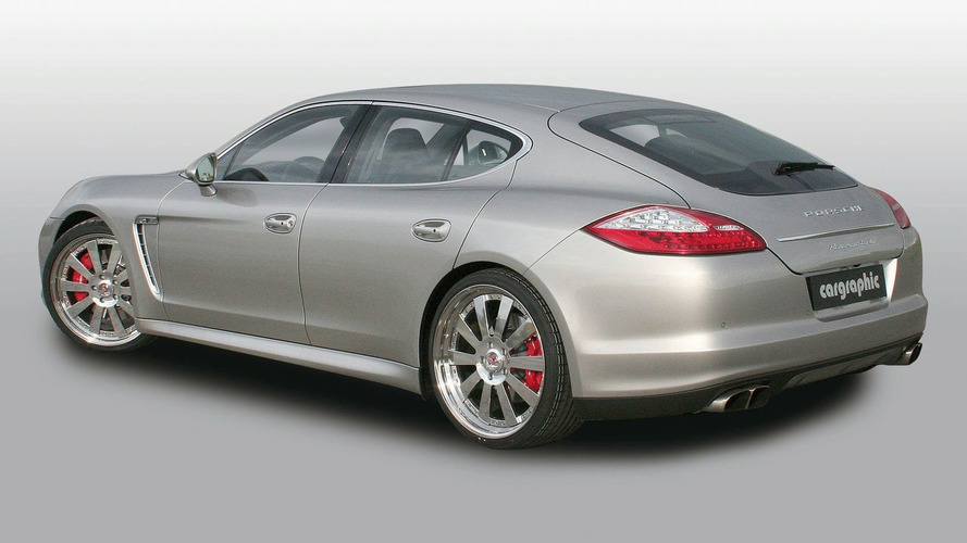 Cargraphic Power Pack for Porsche Panamera Turbo