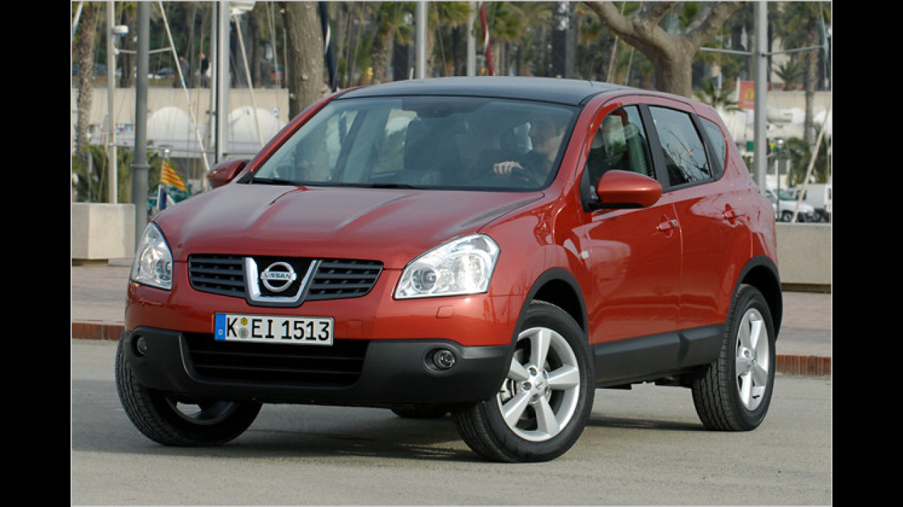 Nissan Qashqai 1.6 visia 4x2
