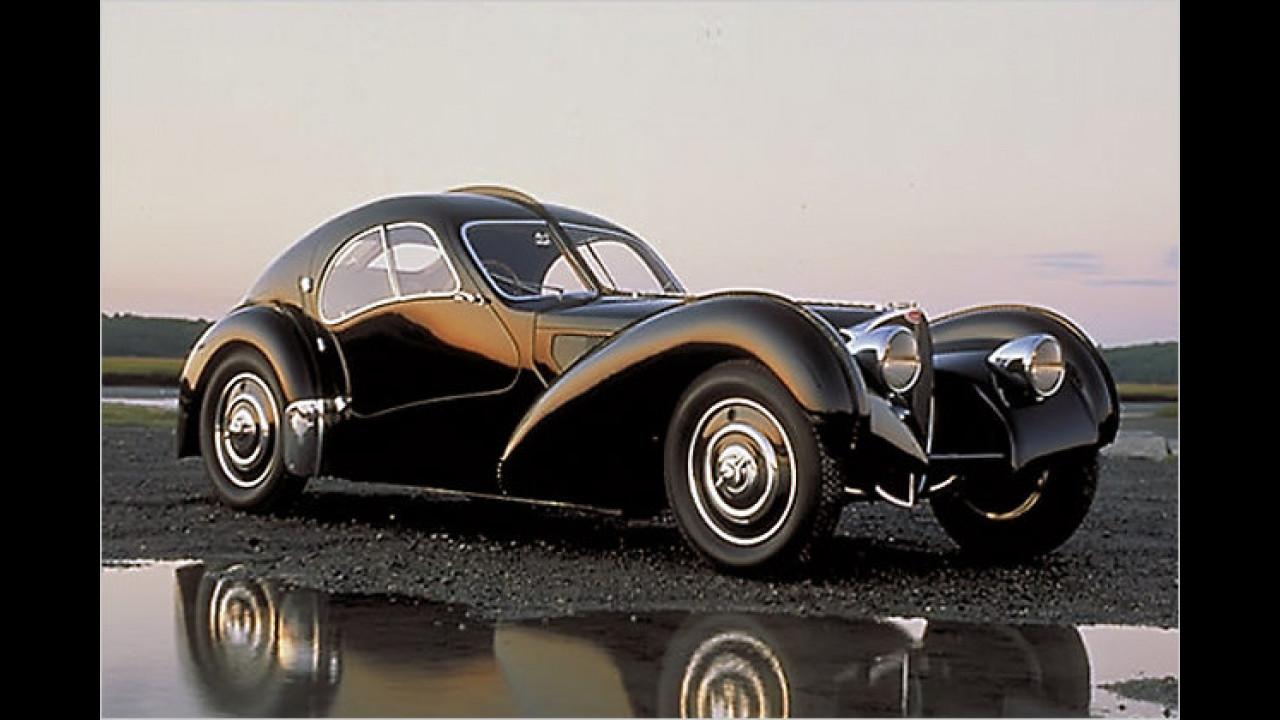Teuerstes Auto: Bugatti 57 SC Atlantic (1936)
