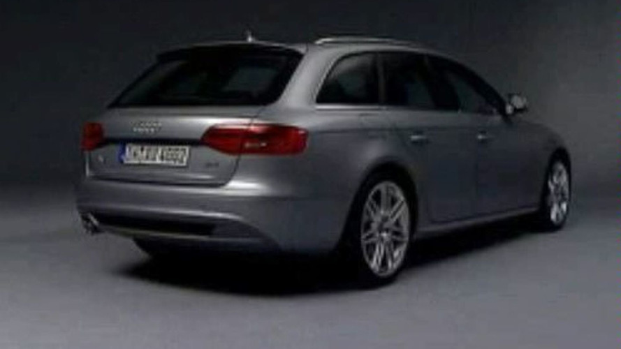 Audi A4 Avant Revealed: Photos and Video