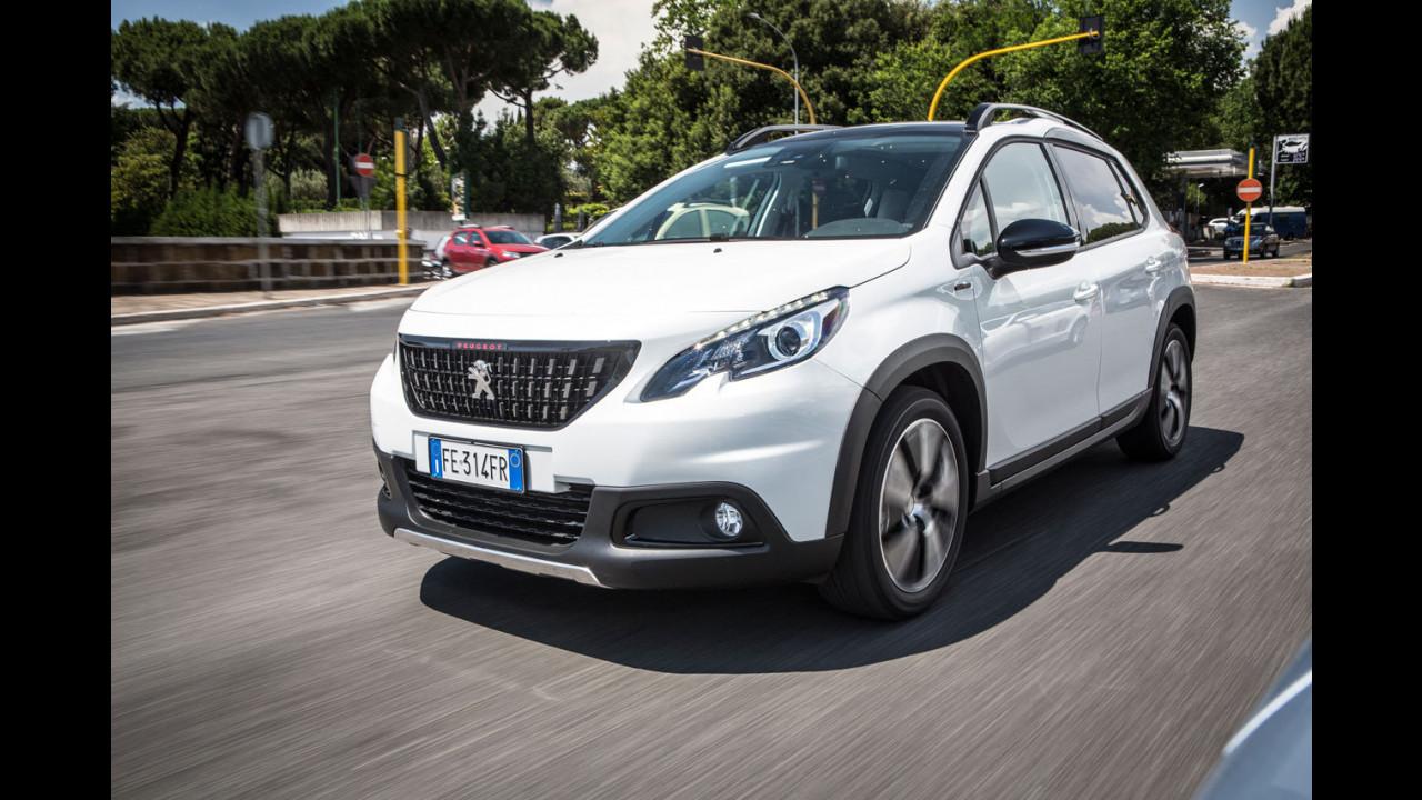 Peugeot 2008, la prova della quotidianità