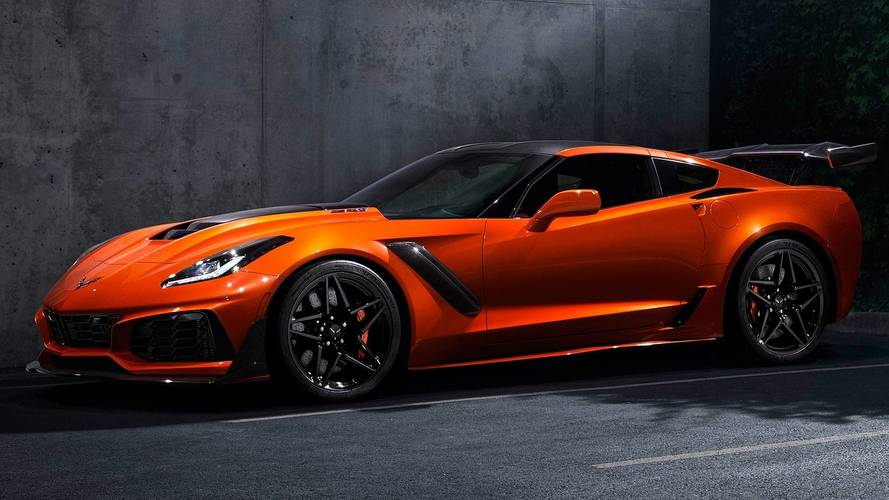2018MY Chevy Corvette Production Lowest Since 1959