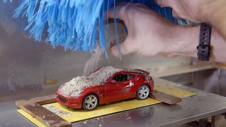 Nissan's Mini Car Wash Would Be Perfect For Cleaning Scale Models