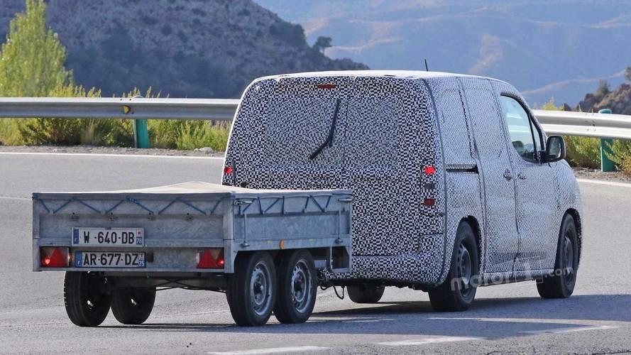 Peugeot Partner Spy Photo