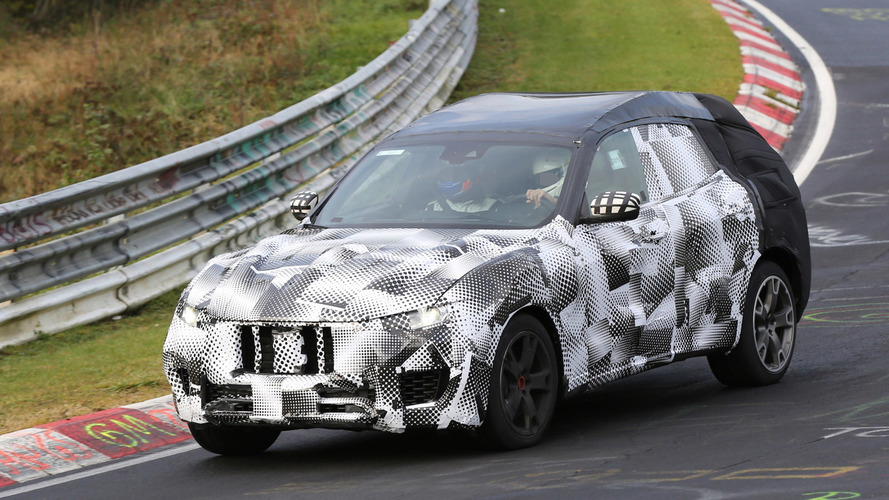 Maserati Levante flaunts its stylish shape on the Ring [video]