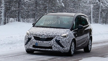 2017 Opel Zafira spy photo