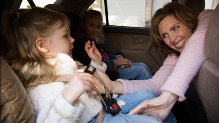 Come distrarre i bambini in auto