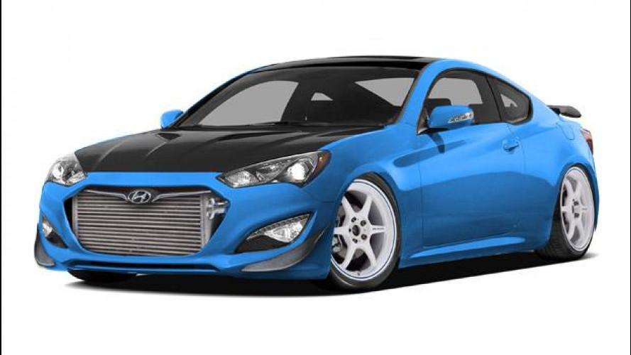 Hyundai Genesis Coupé by Bisimoto