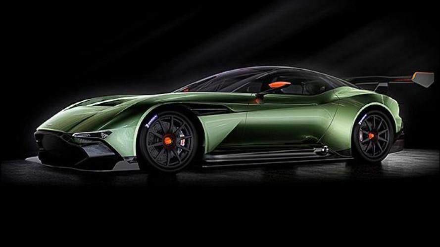 Aston Martin Vulcan, un gioiello da pista