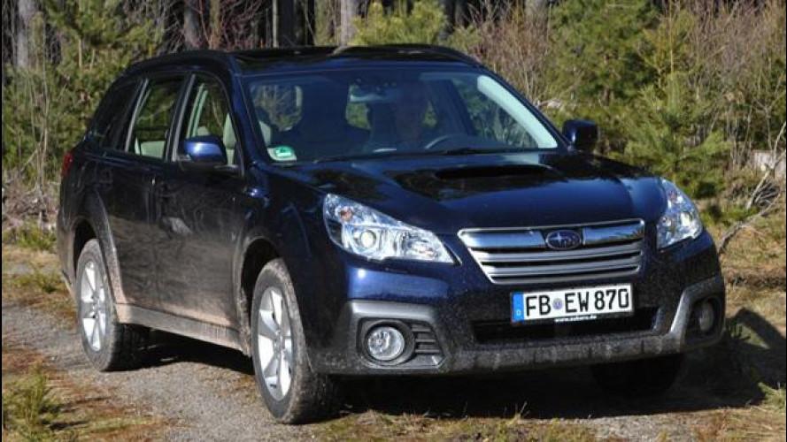 Subaru Outback Diesel Lineartronic, silenziosa e divertente