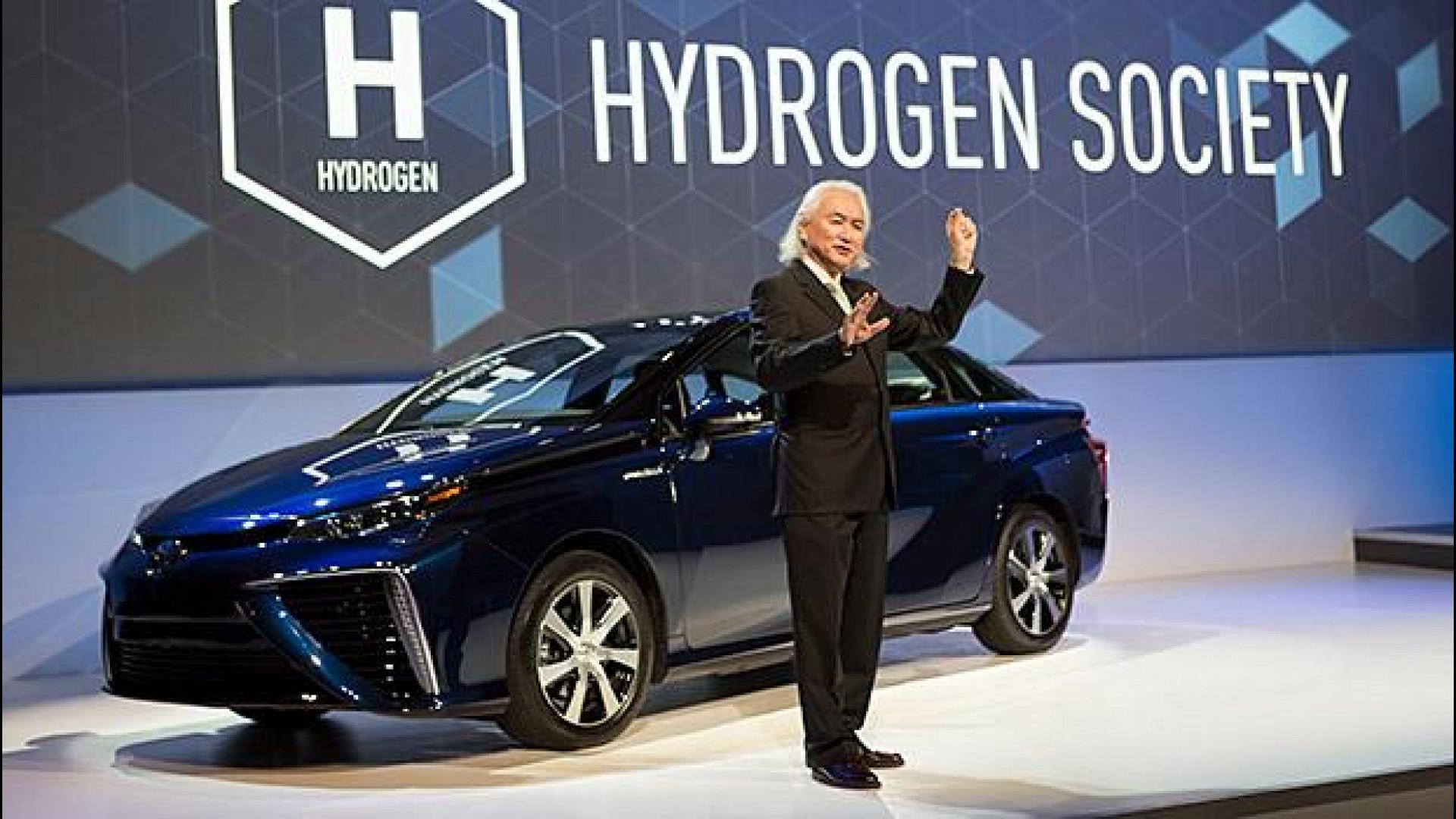 Risultati immagini per auto idrogeno