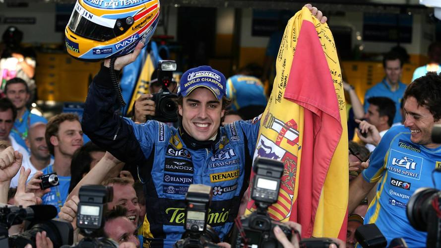 Alonso ya forma parte del Salón de la Fama de la FIA