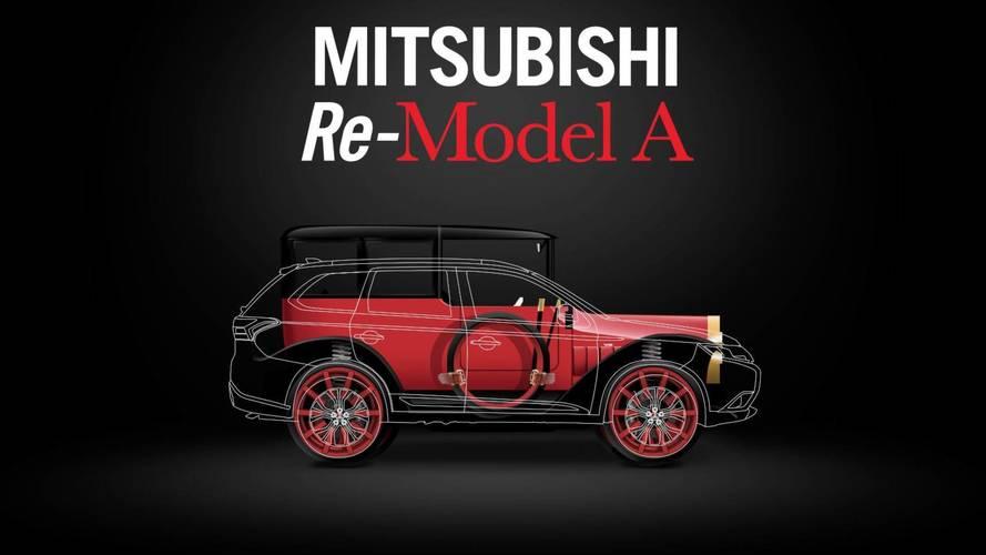 1917 Mitsubishi Model A With Outlander PHEV Set For Debut