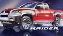 Mitsubishi Raider 2006 - front