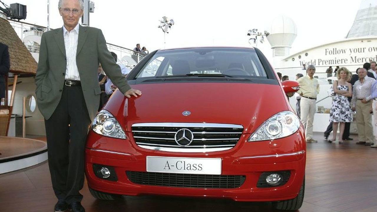 Mercedes-Benz A-Class & Professor Jürgen Hubbert