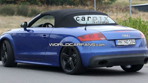 Audi TT-RS Roadster Spy Photos